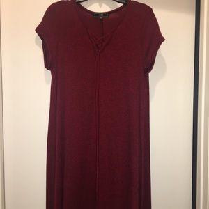 LIKE NEW!!! Red & Black Dress